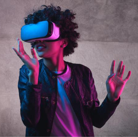 Digital technologies VR headset
