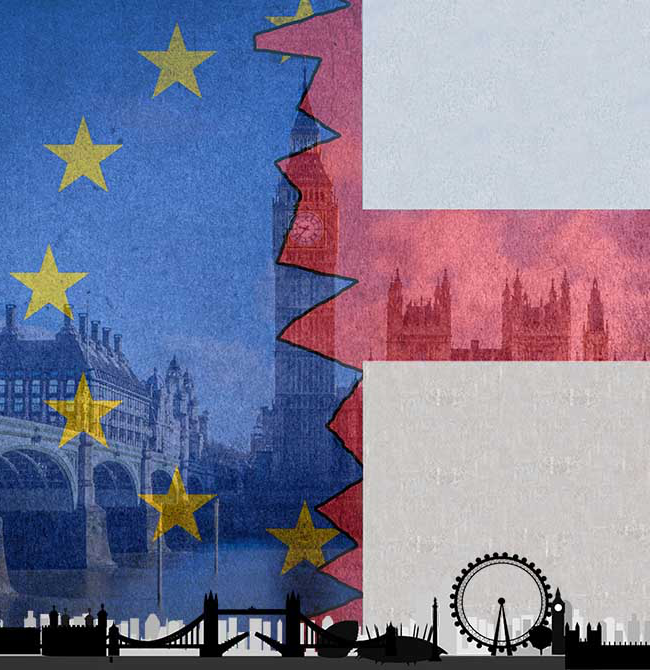 Flags and London
