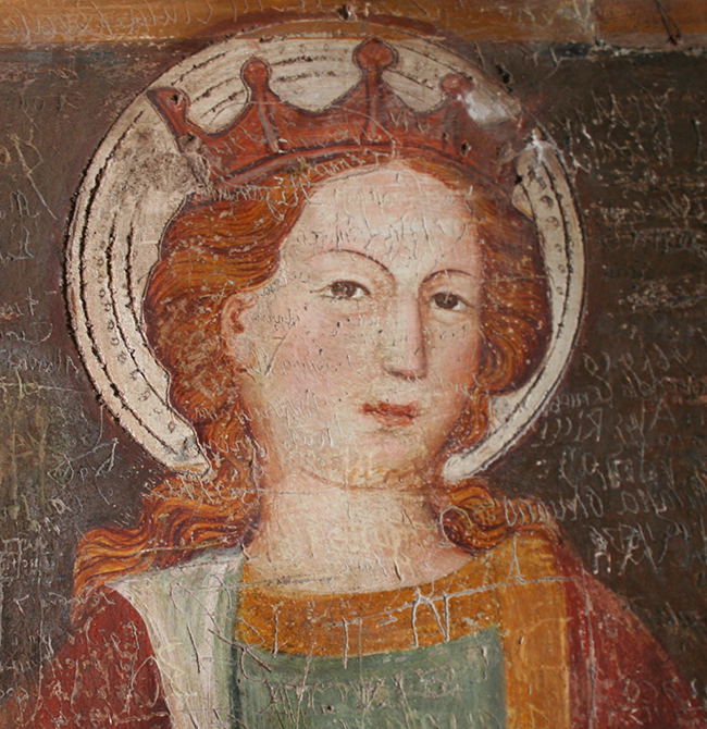 Photo of italian medieval painting